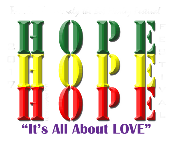 Apparel T-Shirt Its All About Love And Hope